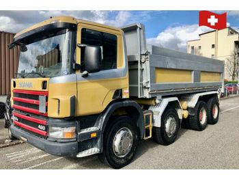 Scania P124 CB 8x4  - savivartis sunkvežimis