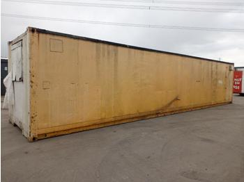 40' x 8' Containerised Office, Kitchen - construction container