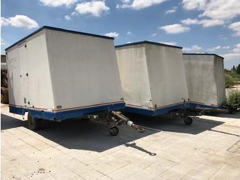 Construction container JCR ROULOTTE DE CHANTIER