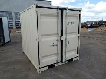 Unused 2021 8' Container, 1 Door and 1 Window - construction container