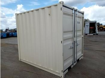 Unused 2021 9' Container, 1 Door and 1 Window - construction container