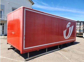 Container Ackermann Storage Container ALUMINIUM Container: picture 1