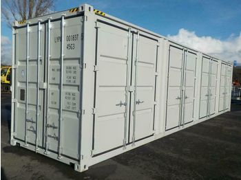 Unused 40' HC Container, 2 Side Doors, 1 End Door - container