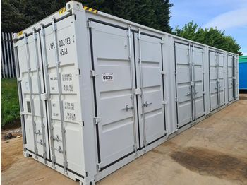 Unused 40' HC Container, 4 Side Doors, 1 End Door - container