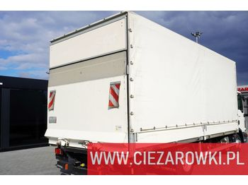 Junge tarpulin body + lfit DHOLLANDIA 1.000kg , remote , 2018 , - curtainside swap body