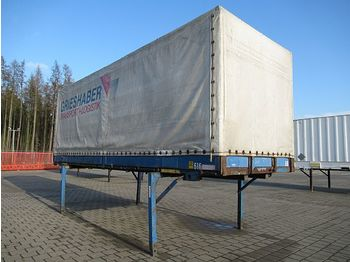 Curtainside swap body Krone 2 x Plane 7,15 m: picture 1