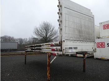جسم السيارة - بغطاء جانبي Krone 3 St. Baustoff - Flats, BDF-7.45: صور 1