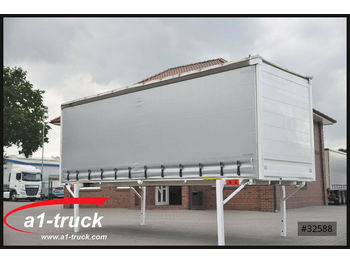 Curtainside swap body Krone 8 x Schiebeplane, 7,45 Tautliner, neue Plane: picture 1