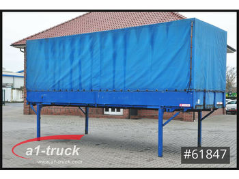 Curtainside swap body Krone EP 7.4/16 Baustoff, 7,45 BDF, Bordwand,