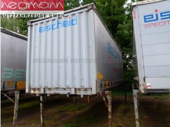 Curtainside swap body Krone WP 7,3 LS4-CS, Schiebeplane, Edschaverdeck, Bahn