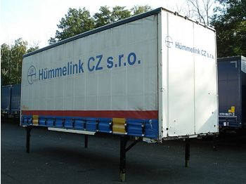 Curtainside swap body Krone - WP 7.7 Jumbo BDF