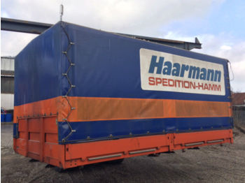 Curtainside swap body Planenaufbau