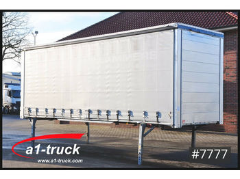 Curtainside swap body Wecon 6 x WPR 782, verzinkt CODE XL, Hubdach