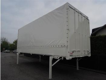 Dropside swap body Krone - BDF System 7.450 mm lang, LACK + PLANE NEU!