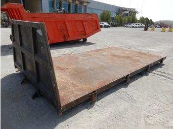 Flatbed to suit Lorry - flatbed swap body