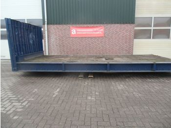 New N4570, containerflat - flatbed swap body