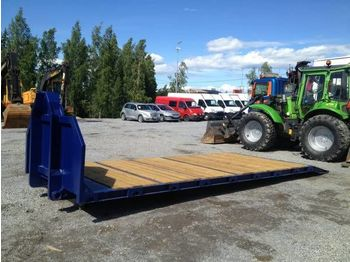 New VAIHTOLAVA Kone puupohja 13 t dropside body - flatbed swap body