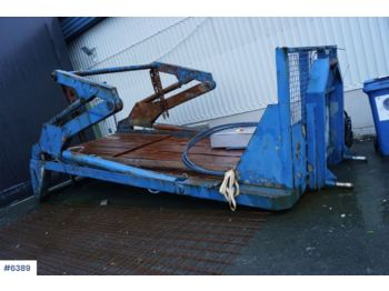 Joab HL18 US LVL Lift dumper hookflake with push out. Rep. object - hook lift/ skip loader system