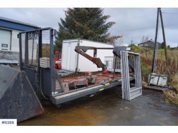 Hook lift/ skip loader system Joab VL18 U 5860AA Lift dump build with extension. Rep. object