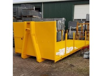 Flat 6500x2500 - roll-off container