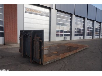 Roll-off container Flat container