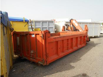 Roll-off container Forez benne ampliroll + grue
