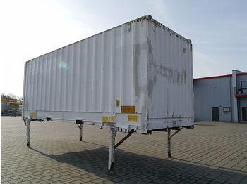 Swap body - box / - BDF Jumbo 7,45 m Rolltor