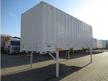 بصندوق مغلق BDF Wechselkoffer 7,45 m Rolltor kran+stapelbar: صور 1