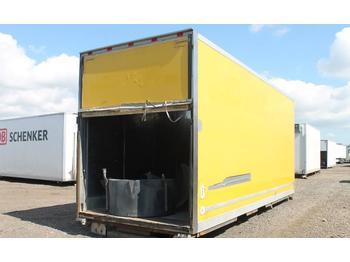Eurowest Skåp  - swap body - box
