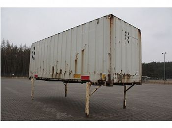 Swap body - box / - Wechselbrücke Koffer Rolltor 7,45 m