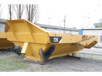 CATERPILLAR KIPPER TIPPER BODY DUMPER CATERPILLAR CAT 735 FLAP DOOR - tipper body