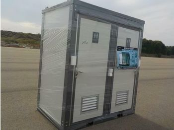 Unused Portable Toilets c/w Double Closestools - swap body/ container