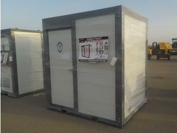 Unused Portable Toilets c/w Shower - swap body/ container