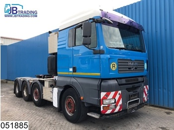 MAN TGA 41 540 8x4, EURO 5, 120 Ton, Retarder, 13 Tons axles, Dish 3.5 duim / Inch, Airco, Hydraulic, Hub reduction, - tahač