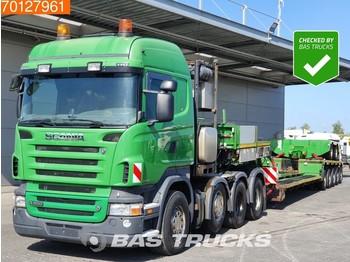 Scania R620 + Nooteboom Euro PX 107-25 2+5 8X4 Manual Retarder Big-Axle Hydraulik Euro 5 - tahač