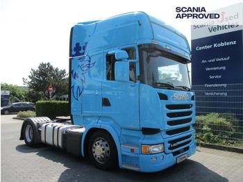 Scania R450 MEB - TOPLINE - MEGA - höhenv. Sattelplatte - - tegljač