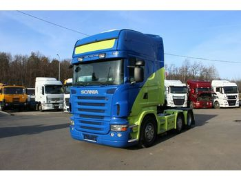 Scania R 400 la 6x2/4 RETARDER,SECONDARY AIR CON.  - tegljač