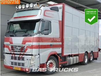 Volvo FH 500 XL 6X2 4-stock Berdex Steering-axle Euro 5 - állatszállító teherautó