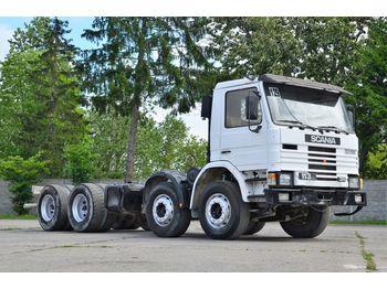SCANIA 113H 310 chassis 8x4 1990 - alvaz teherautó