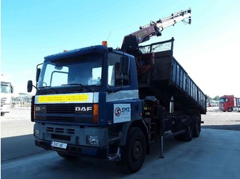 DAF 85 330 ATI palfinger pk 19000 - billenőplatós teherautó