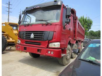 HOWO 336 - billenőplatós teherautó