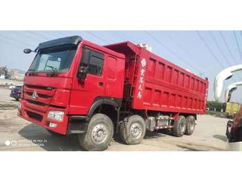 HOWO 375 - billenőplatós teherautó