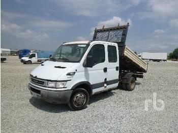 IVECO DAILY 35C14 Crew Cab - billenőplatós teherautó