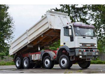 IVECO EUROTRAKKER 410E42 Heavy Duty - billenőplatós teherautó