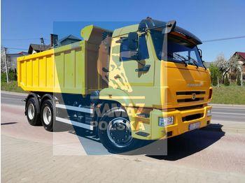 KAMAZ 6x4 wywrotka tylnozsypowa - billenőplatós teherautó