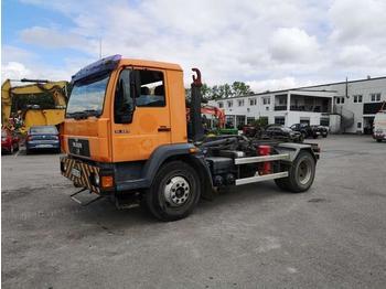 MAN 15.224 - billenőplatós teherautó