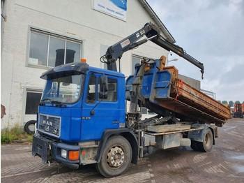 MAN 18.272 - billenőplatós teherautó