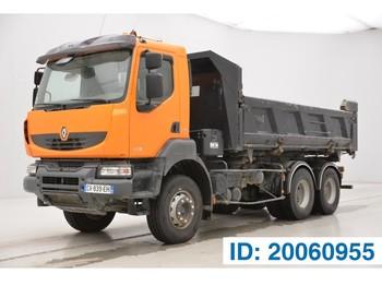 Renault Kerax 450 DXi - 6x4 - billenőplatós teherautó