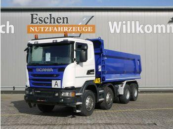 Billenőplatós teherautó Scania G 450, 8x4, AP Achsen, Retarder