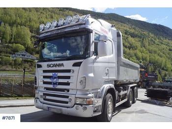 Scania R620 6x4 kombibil - billenőplatós teherautó